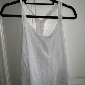 Abercrombie and Fitch tank top. White. Size M